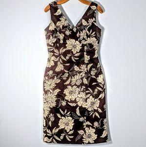 Donna Rico Sateen Floral Dress